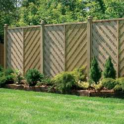 Hampshire Flat Top Fence Panel